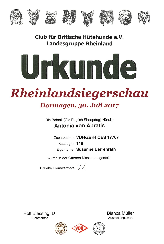 Club für Britische Hütehunde e.V. Landesgruppe Rheinland